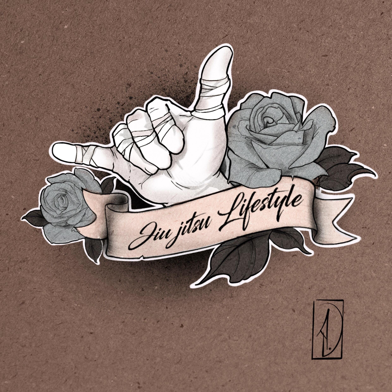 flash tattoo jiujitsu brésilien néo-traditional JJB lyon corbas tatouage